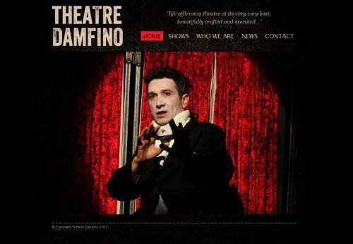 Bespoke hand built website for Bristol theatre company