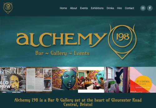 Bespoke website for Bristol bar